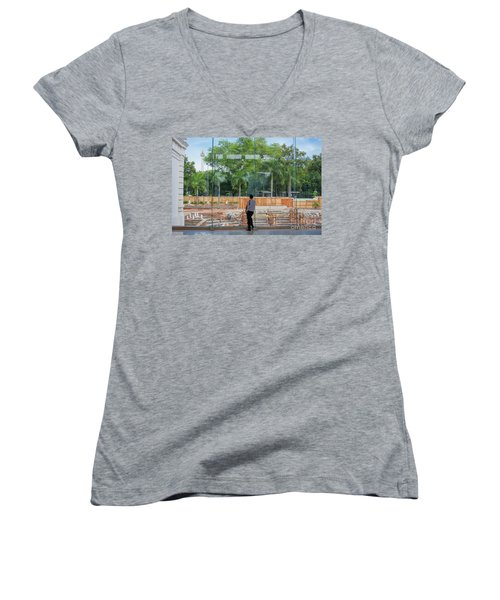 Scapes Of Our Lives #7 Women's V-Neck