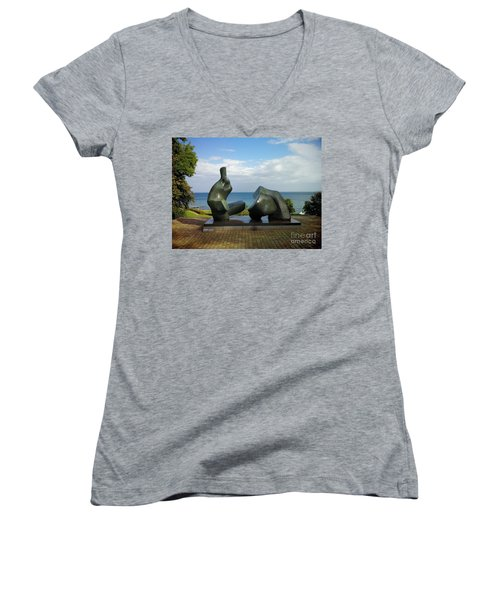 Scapes Of Our Lives #9 Women's V-Neck