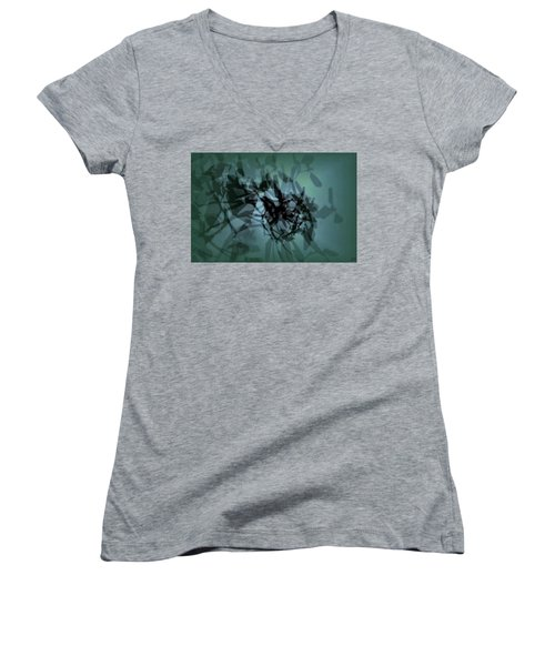 Scattered Shadows Women's V-Neck T-Shirt