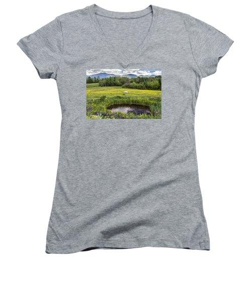 Scenic Pasture Women's V-Neck