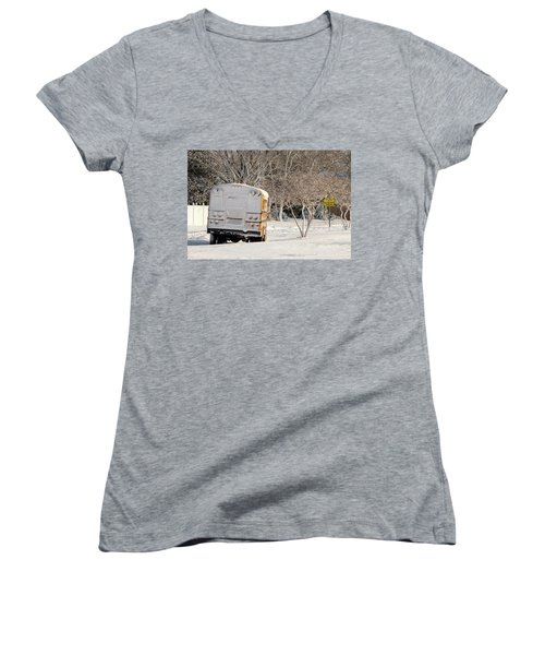 School Is Out Women's V-Neck