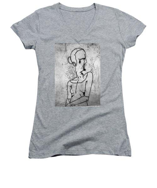 Screamer Women's V-Neck T-Shirt