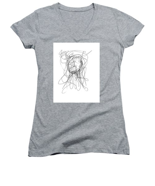Scribble For Gusts, Dust, The Sun... Women's V-Neck (Athletic Fit)