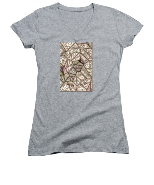 Scribed Women's V-Neck T-Shirt