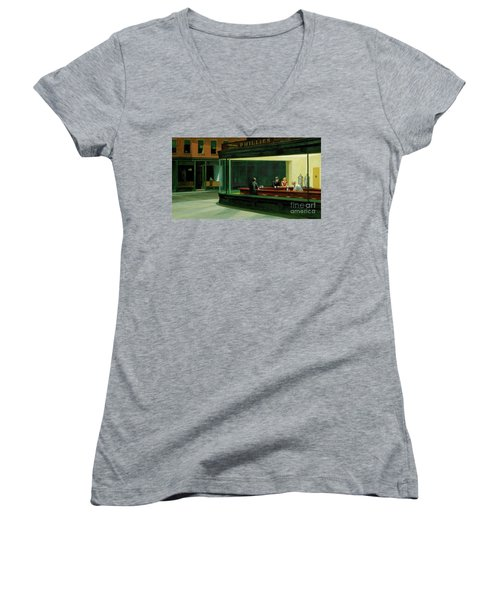 Women's V-Neck T-Shirt (Junior Cut) featuring the photograph Sdfgsfd by Sdfgsdfg