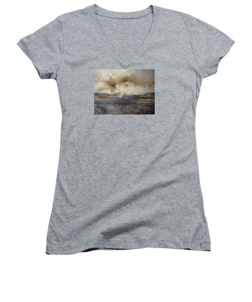 Sea Breeze Women's V-Neck T-Shirt