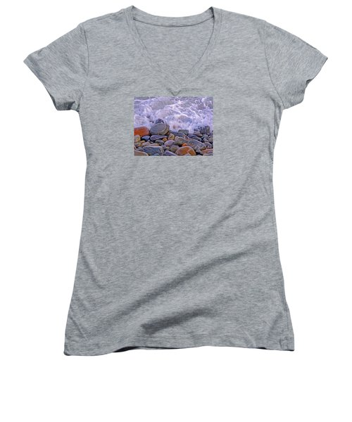 Sea Covers All  Women's V-Neck (Athletic Fit)