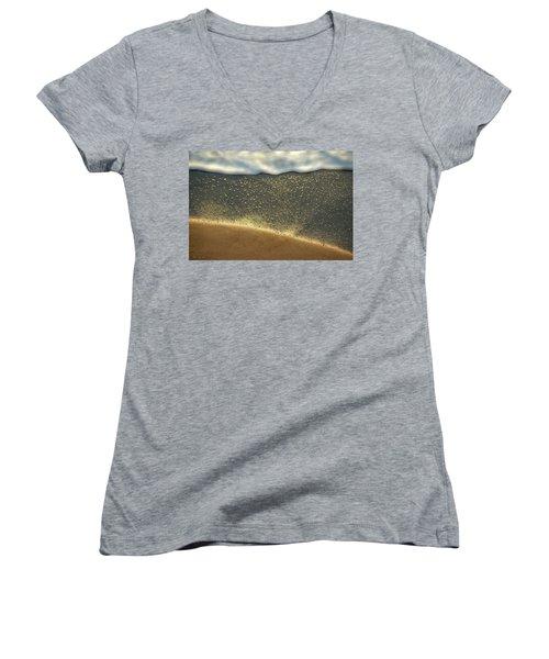 Sea Foam #2 Women's V-Neck T-Shirt