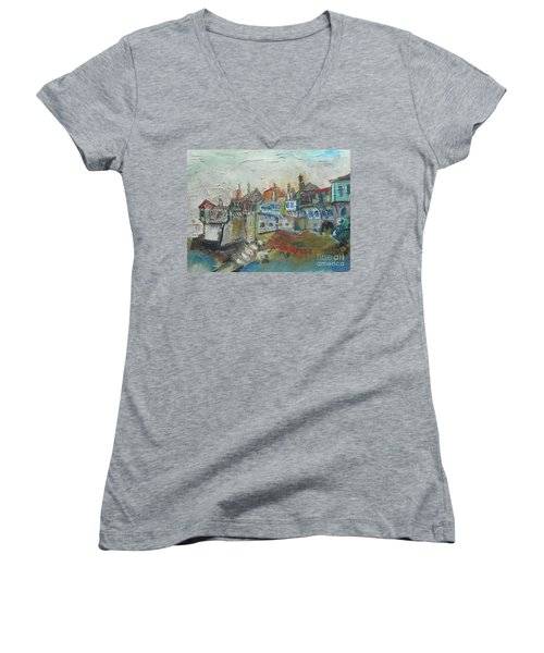 Sea Shore Village Women's V-Neck