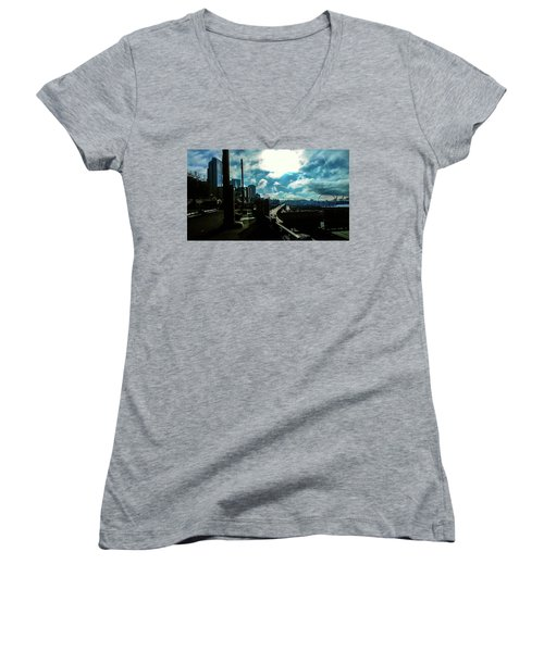 Sea Side, Seattle  Women's V-Neck
