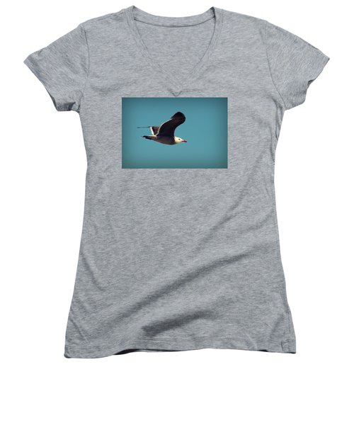 Seagull Aflight Women's V-Neck (Athletic Fit)