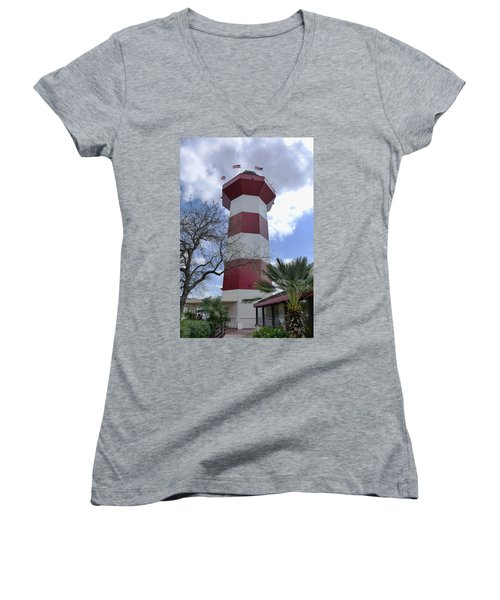 Seapines Lighthouse Women's V-Neck T-Shirt