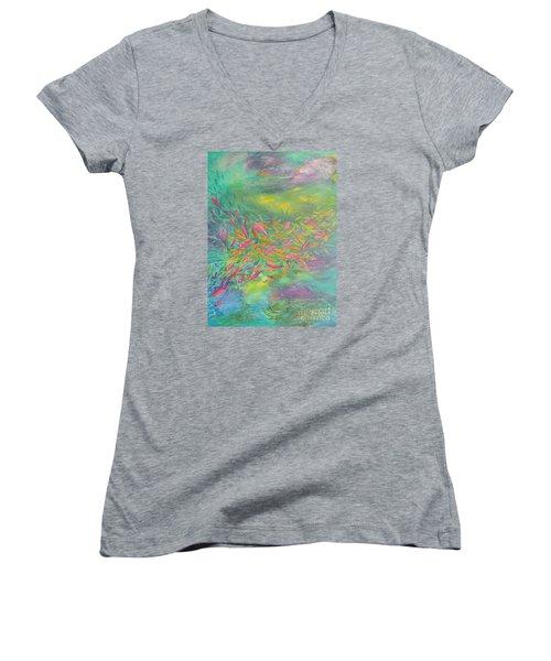 Searching Women's V-Neck T-Shirt