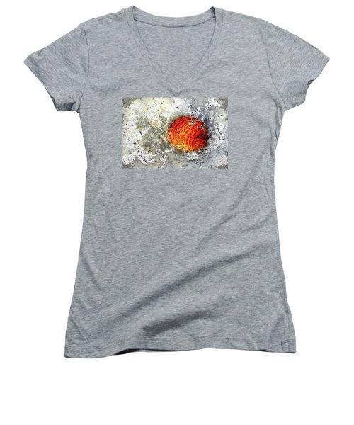 Seashell Art  Women's V-Neck T-Shirt