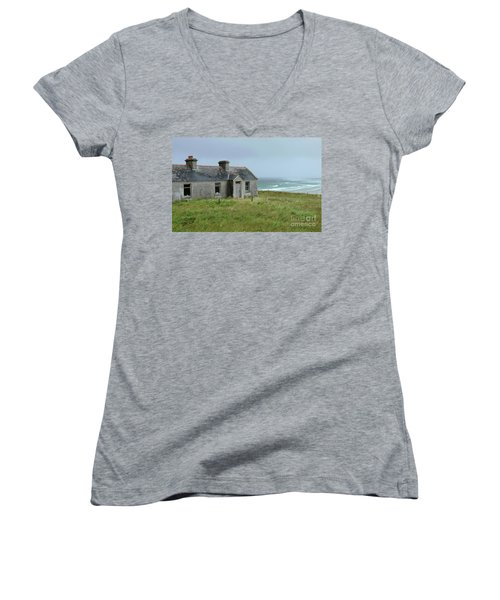 Seaside Cottage Belmullet Women's V-Neck
