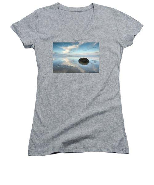 Seaside Dreaming Women's V-Neck T-Shirt
