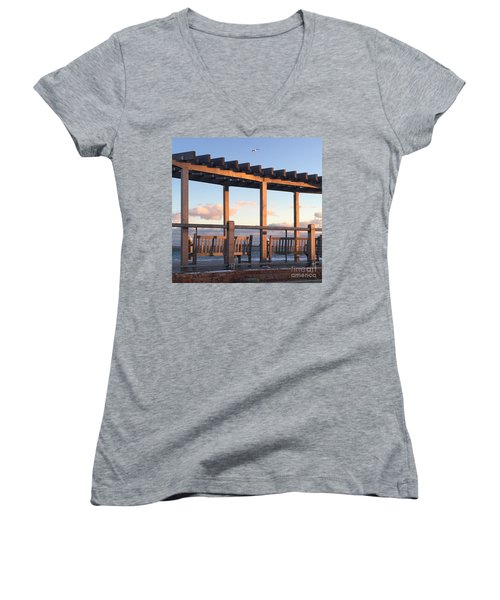 Seaside Seating  Women's V-Neck