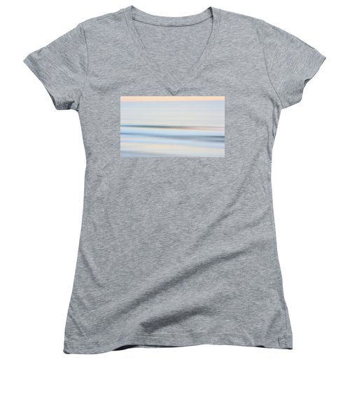 Seaside Waves  Women's V-Neck T-Shirt