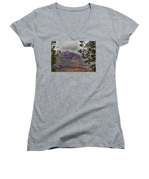 Seasonal Changing Of The Guard Women's V-Neck (Athletic Fit)