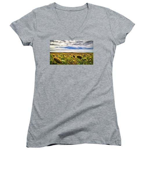 Seasons In The Sun Women's V-Neck (Athletic Fit)