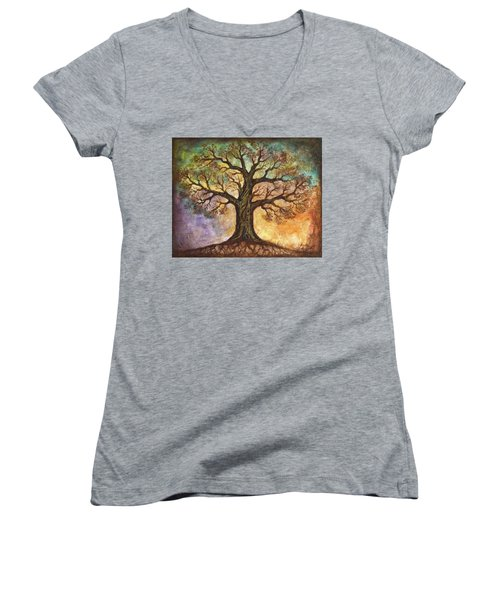 Seasons Of Life Women's V-Neck (Athletic Fit)