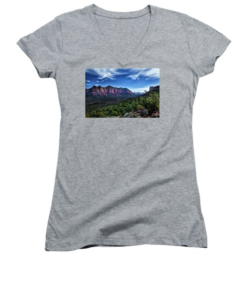 Sedona Skyline Women's V-Neck