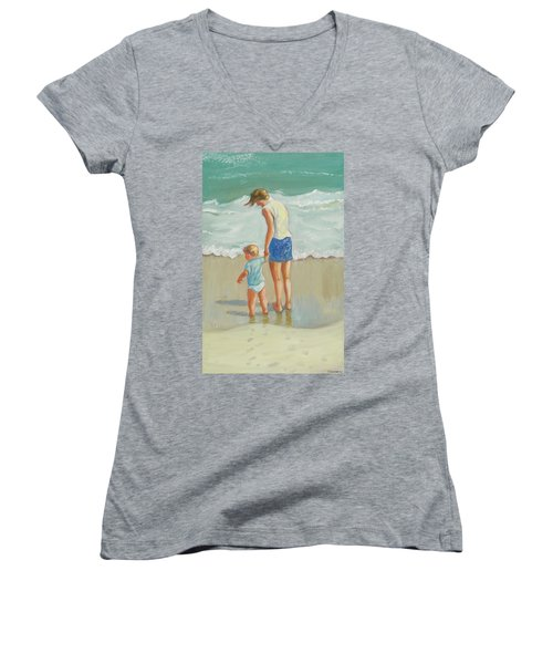 See The Sea Women's V-Neck