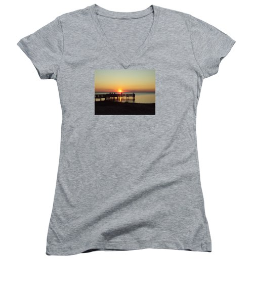 See You Tomorrow Women's V-Neck (Athletic Fit)