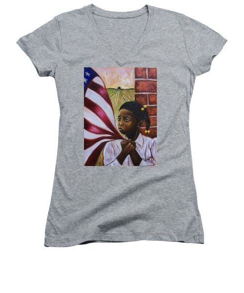 See Yourself Women's V-Neck