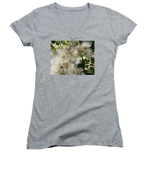 Seed Pod 2 Women's V-Neck (Athletic Fit)
