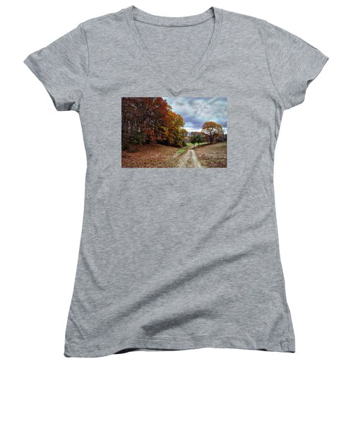 Seldom Traveled 0609 Women's V-Neck T-Shirt