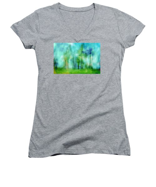 Sense Of Summer Women's V-Neck T-Shirt