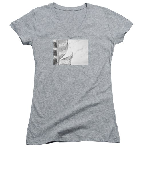 Seperated Women's V-Neck T-Shirt (Junior Cut) by Tim Good