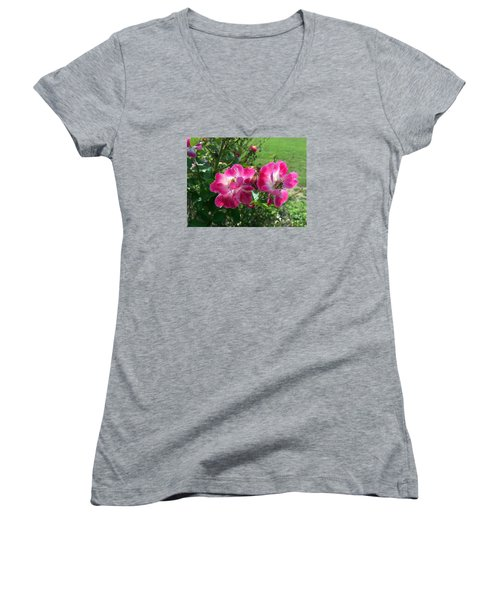 September Rose Women's V-Neck