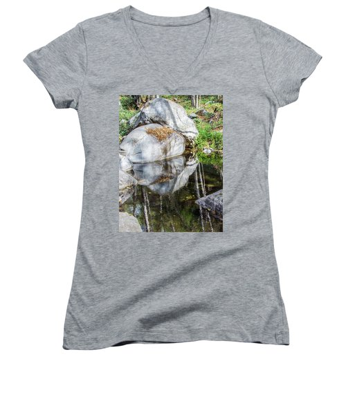 Serene Reflections Women's V-Neck