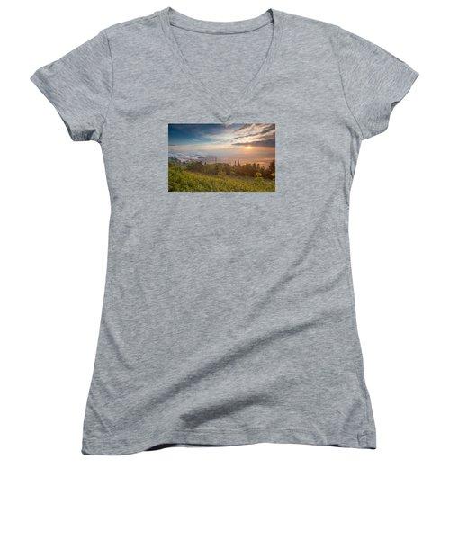 Serenity Women's V-Neck T-Shirt