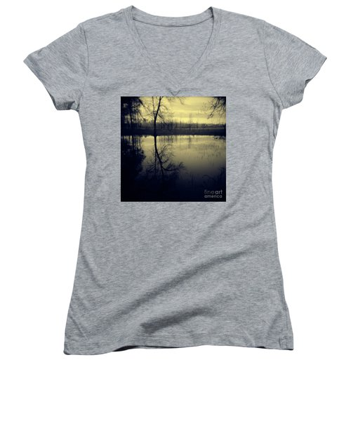 Series Wood And Water 5 Women's V-Neck (Athletic Fit)