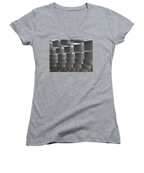 Serpentine Pavilion 12 Women's V-Neck T-Shirt