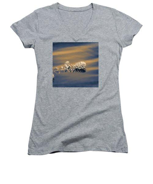 Set Apart Women's V-Neck T-Shirt (Junior Cut) by Carolyn Marshall