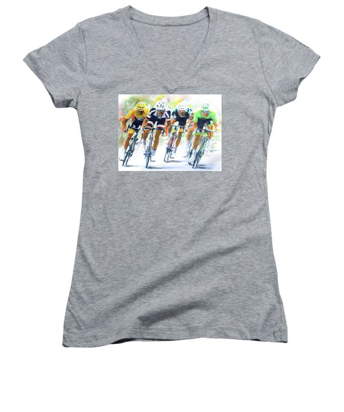 Setting The Pace Women's V-Neck (Athletic Fit)