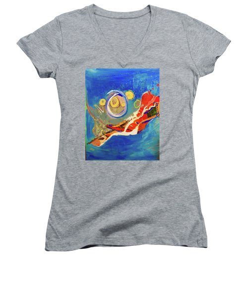 Seventh Dimension Women's V-Neck T-Shirt