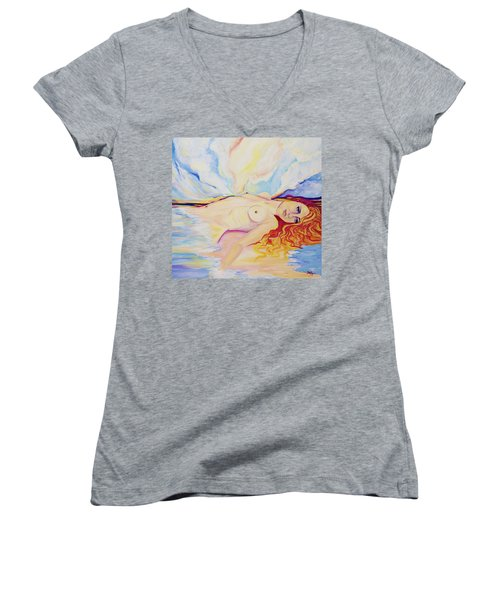 Sex On The Beach Women's V-Neck T-Shirt