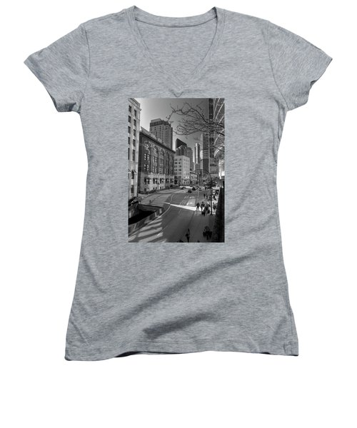 Shades Of The City Women's V-Neck