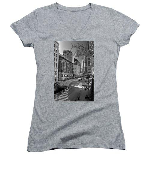 Shades Of The City Women's V-Neck