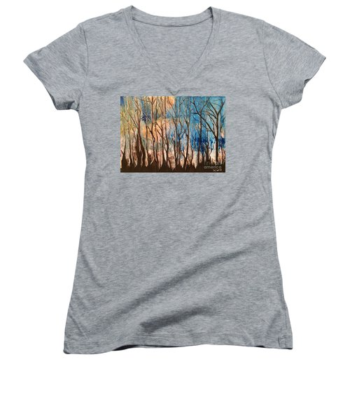 Shadow Dancers Women's V-Neck