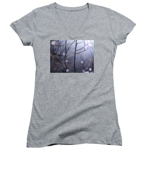 Shadow Forest Women's V-Neck T-Shirt