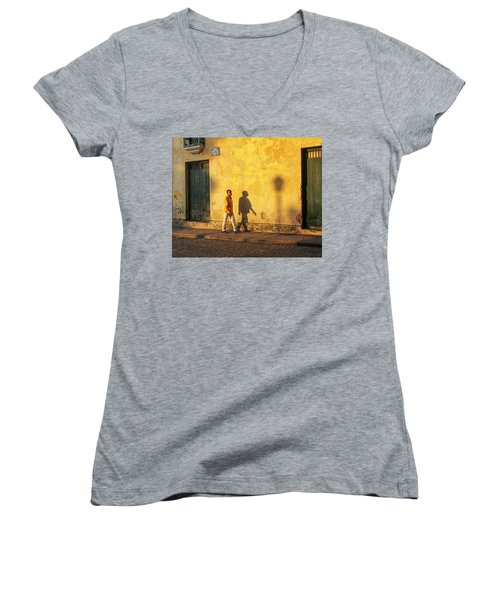 Shadow Walking Women's V-Neck