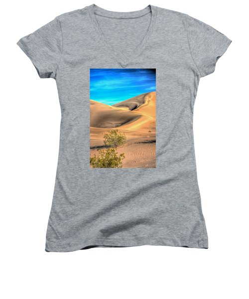 Shadows In The Sand Women's V-Neck