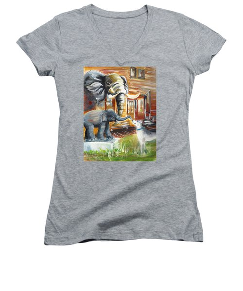 Shadows Of The Past , Hope For The Future Women's V-Neck (Athletic Fit)