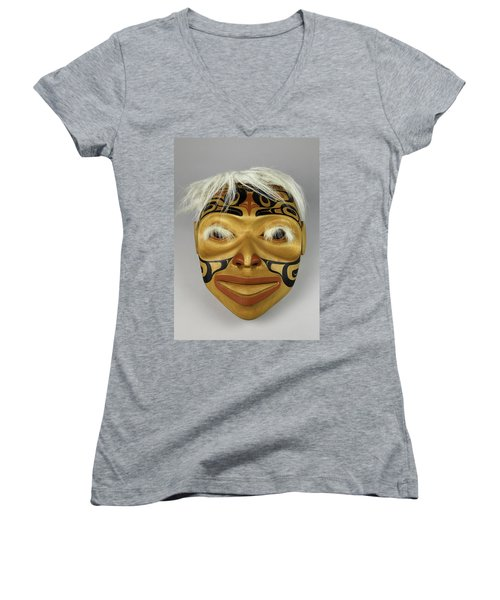 Shaman's Mask Women's V-Neck
